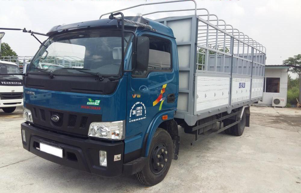 giá xe tải veam vt750